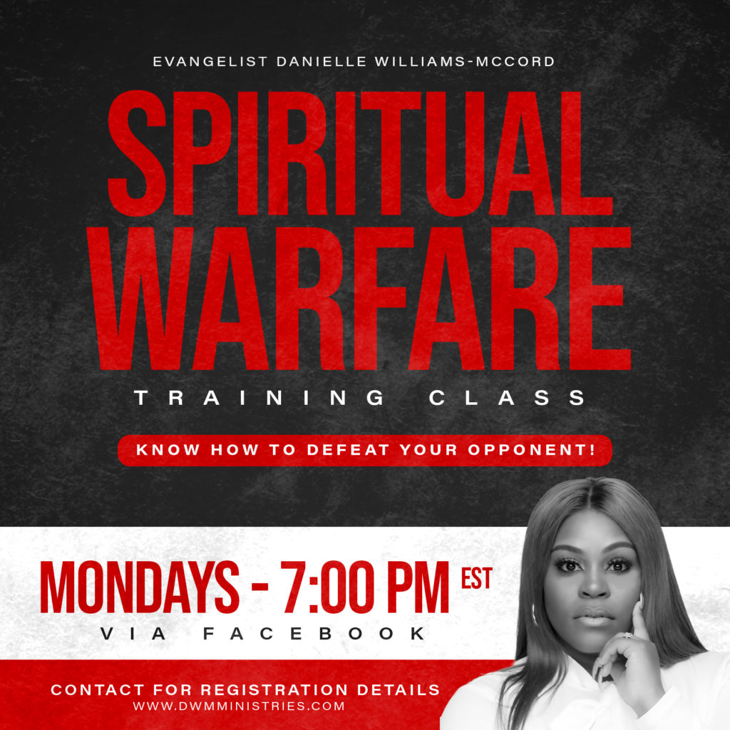 Spiritual Warfare Training Class